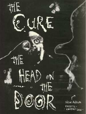 Cure Head on the door ad 85