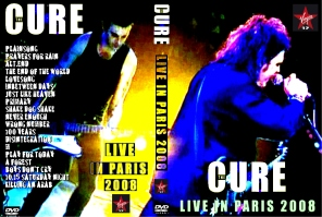 cure live in paris 2008 dvd